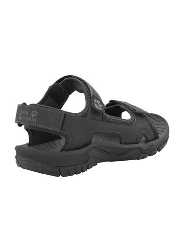 Jack Wolfskin Lakewood Cruise Erkek Sandalet - 4019011-6350 Siyah